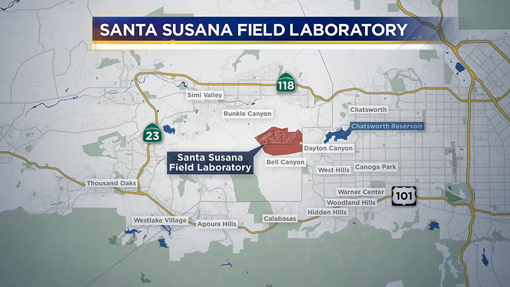 LAs Nuclear Secret NBC Los Angeles - Us nuclear plant meltdown map