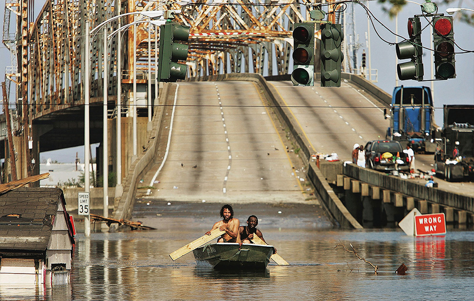 Dramatic Before and After Images from New Orleans 10 Years After